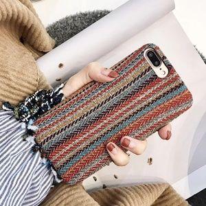 Accessories - Textile Phone Case Iphone I phone cellphone